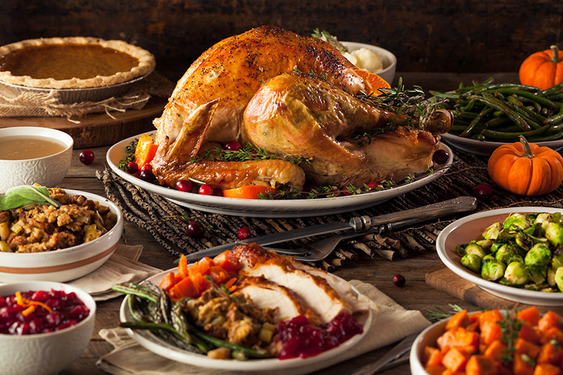Thanksgiving Dinner Without Turkey  For Thanksgiving dinner without the fuss make a