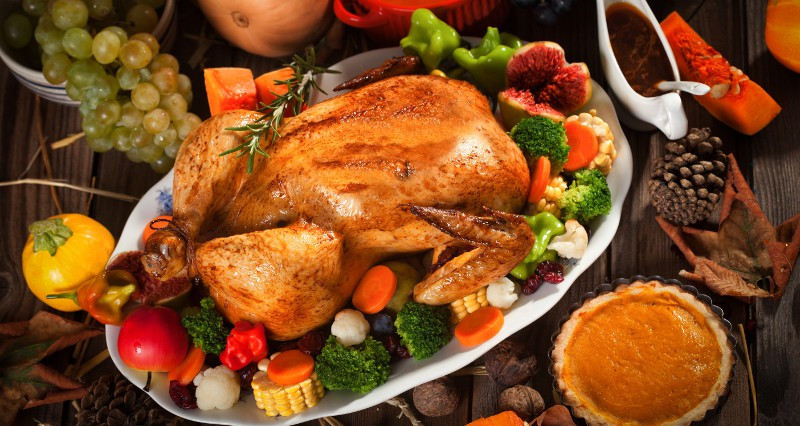 Thanksgiving Dinner Without Turkey  Butter Herb Roasted Turkey Recipe