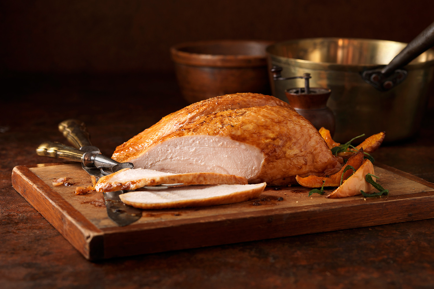 Thanksgiving Dinner Without Turkey  How to Cook a Thanksgiving Turkey Without an Oven