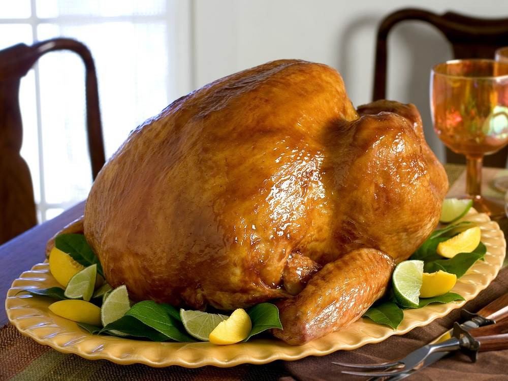 Thanksgiving Dinner Without Turkey  Even without big birds there's plenty of turkey for