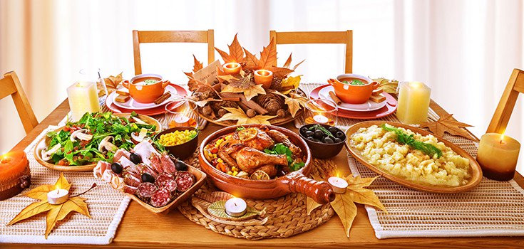 Thanksgiving Dinner Without Turkey  6 Tips to Enjoy Thanksgiving Dinner Without Getting Stuffed