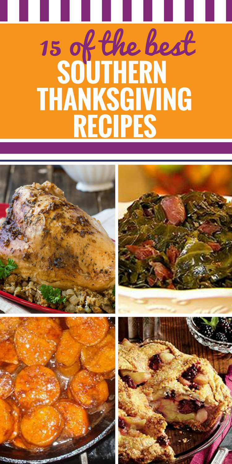 Thanksgiving Dinner Without Turkey  15 Southern Thanksgiving Recipes My Life and Kids