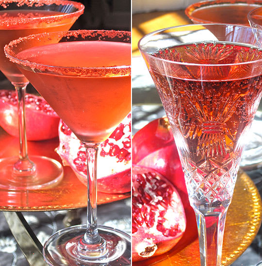 Thanksgiving Drinks Alcoholic  Easy Thanksgiving Cocktail Recipe Pomegranate and