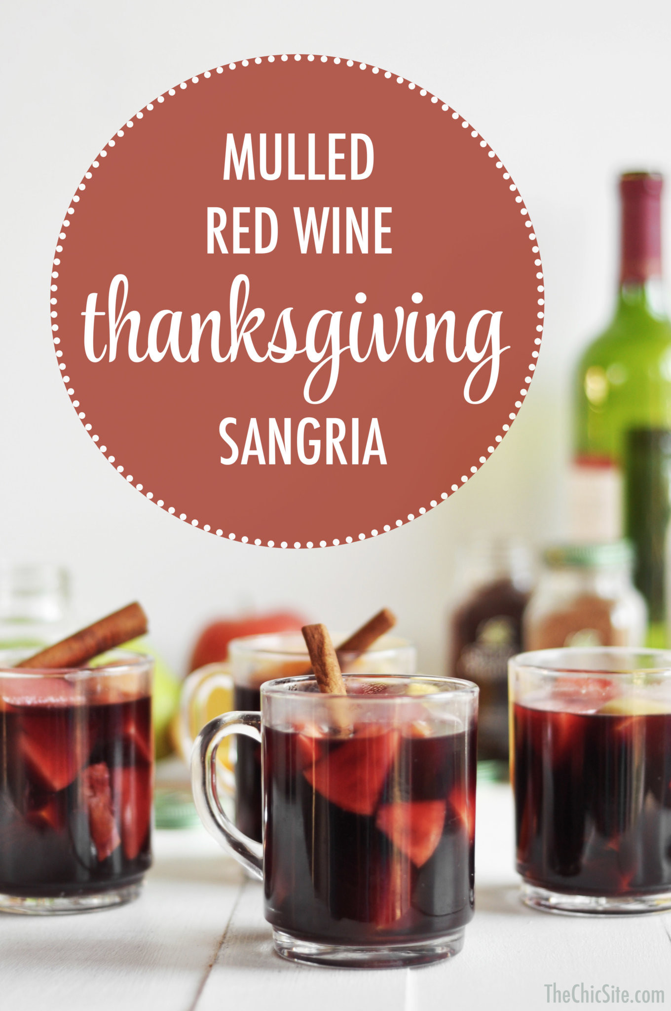 Thanksgiving Drinks Alcoholic  Thanksgiving Sangria The Chic Site