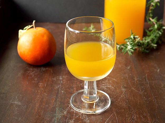 Thanksgiving Drinks Non Alcoholic  Rosemary Tangelo Shrub Recipe
