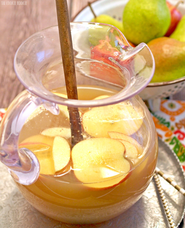 Thanksgiving Drinks Non Alcoholic  Apple Pie Punch Cocktails DrinkWire