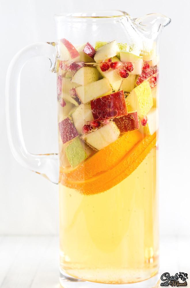 Thanksgiving Drinks Non Alcoholic  Refreshing DIY Non Alcoholic Apple Cider Sangria