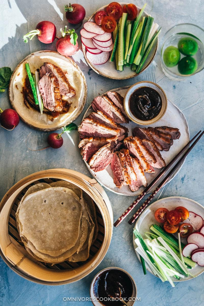 Thanksgiving Duck Recipes  Crispy Chinese Duck Breast