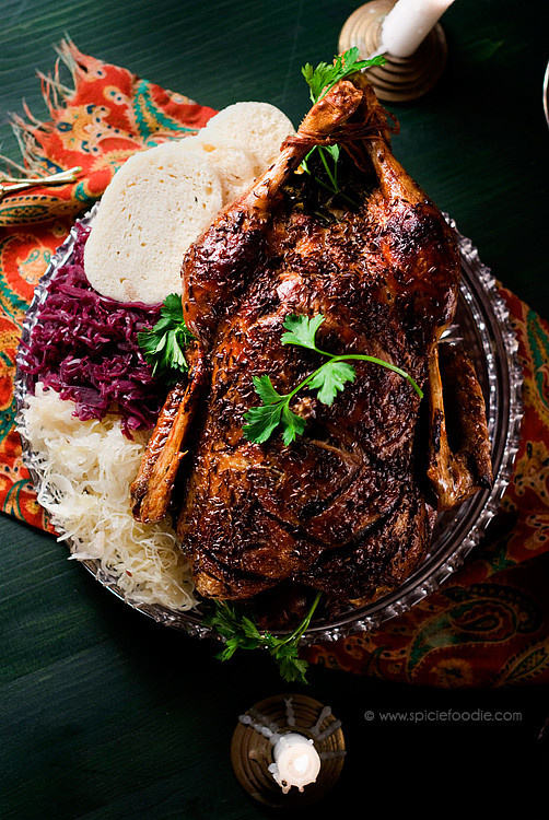 Thanksgiving Duck Recipes  Czech Roasted Duck A Christmas Tradition