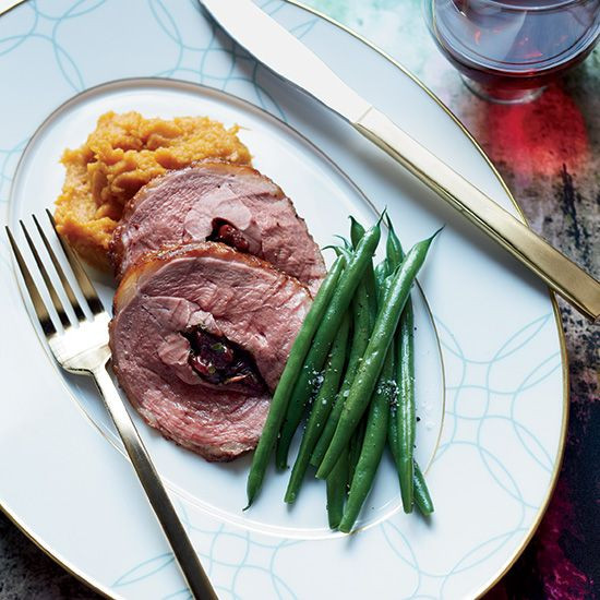 Thanksgiving Duck Recipes  Sour Cherry Stuffed Duck Breasts with Thyme
