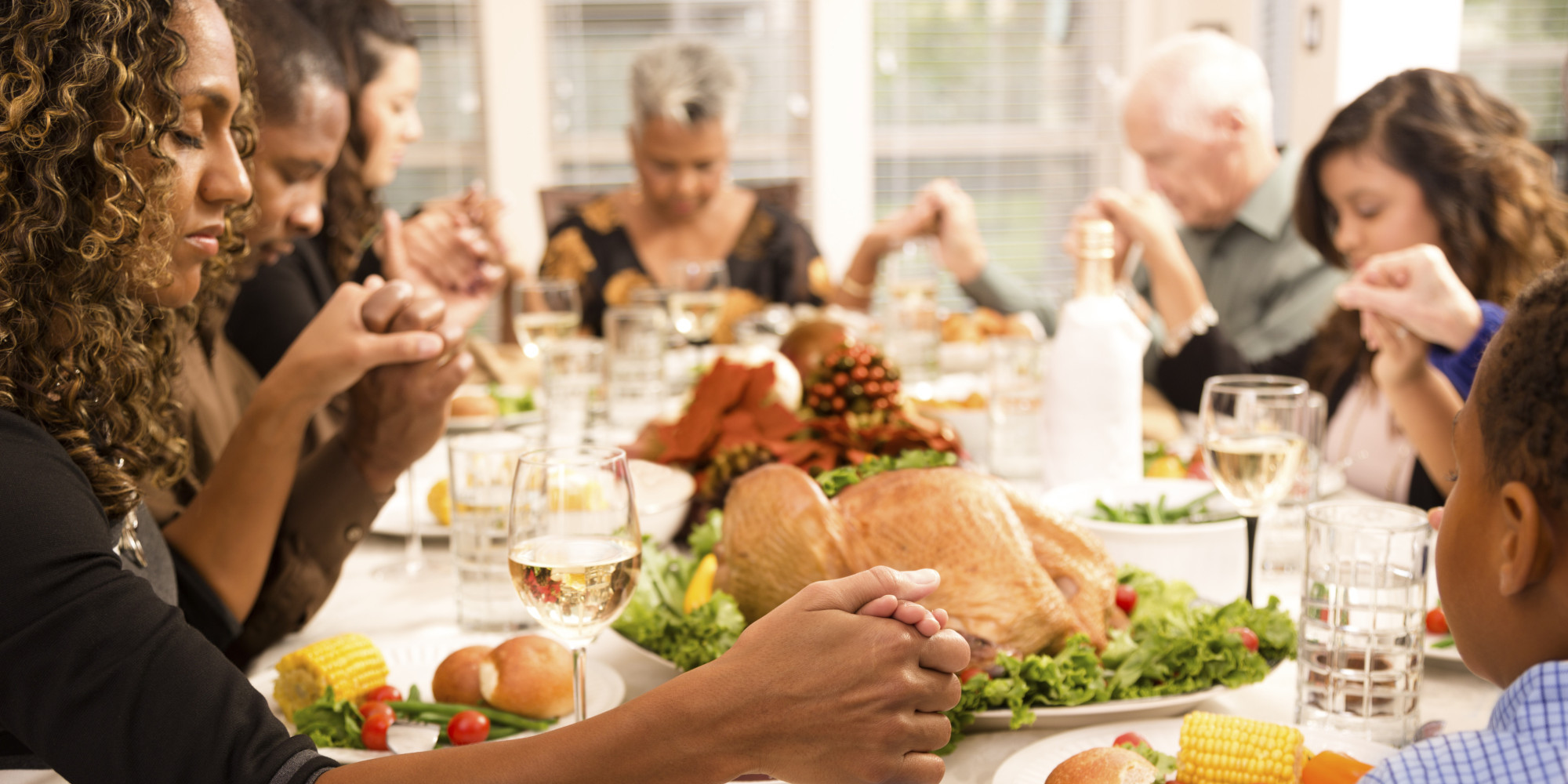 Thanksgiving Family Dinner  Almost Half Americans Don t Say Thanks To God