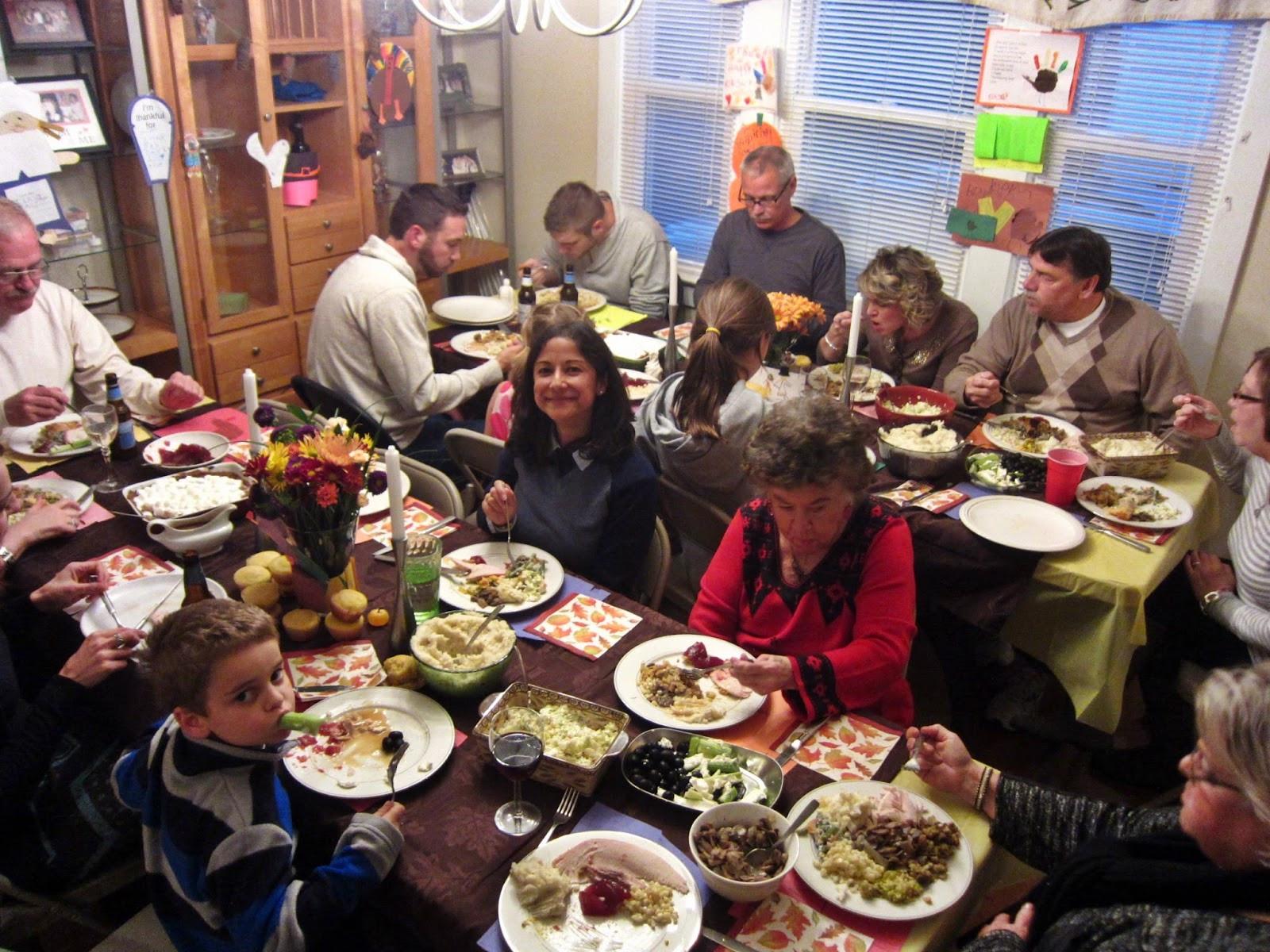 Thanksgiving Family Dinner  Where Is Darren Now Thanksgiving 2013