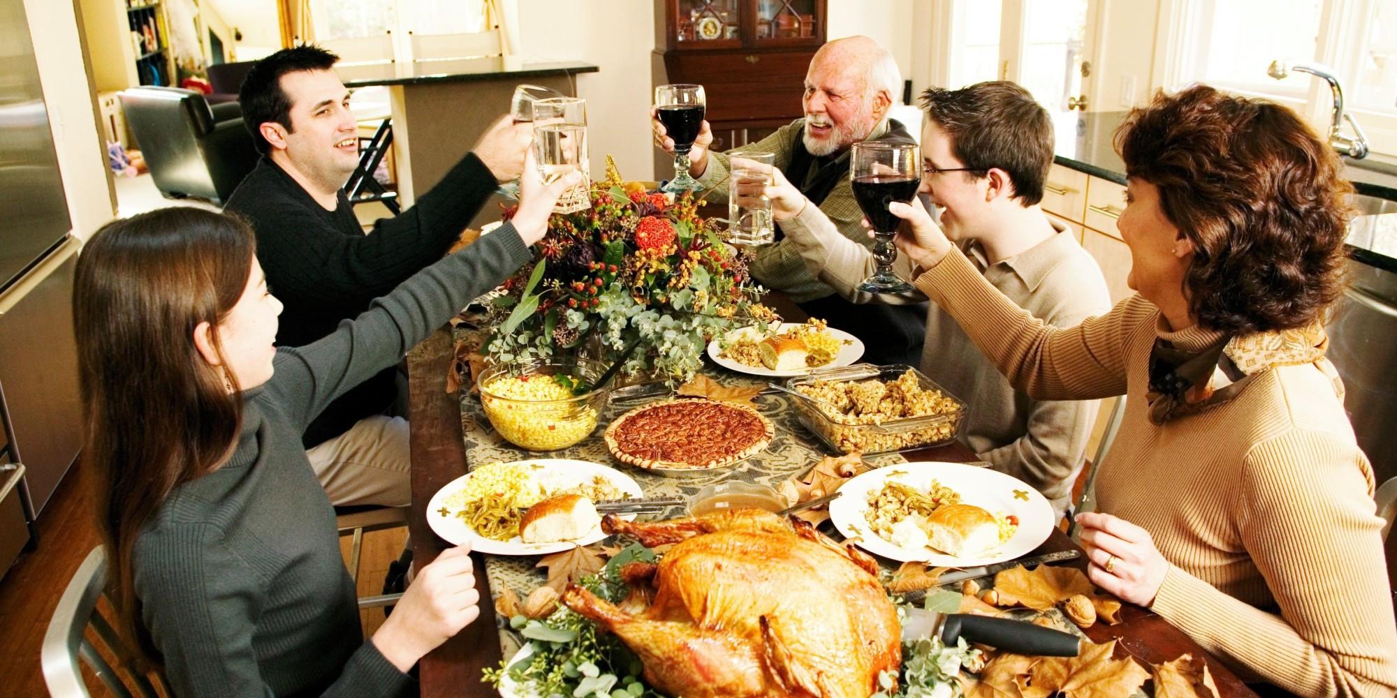 Thanksgiving Family Dinner  Celebrate Thanksgiving California Style