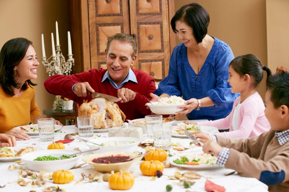 Thanksgiving Family Dinner  5 Tips for Planning a Thanksgiving in Gatlinburg TN
