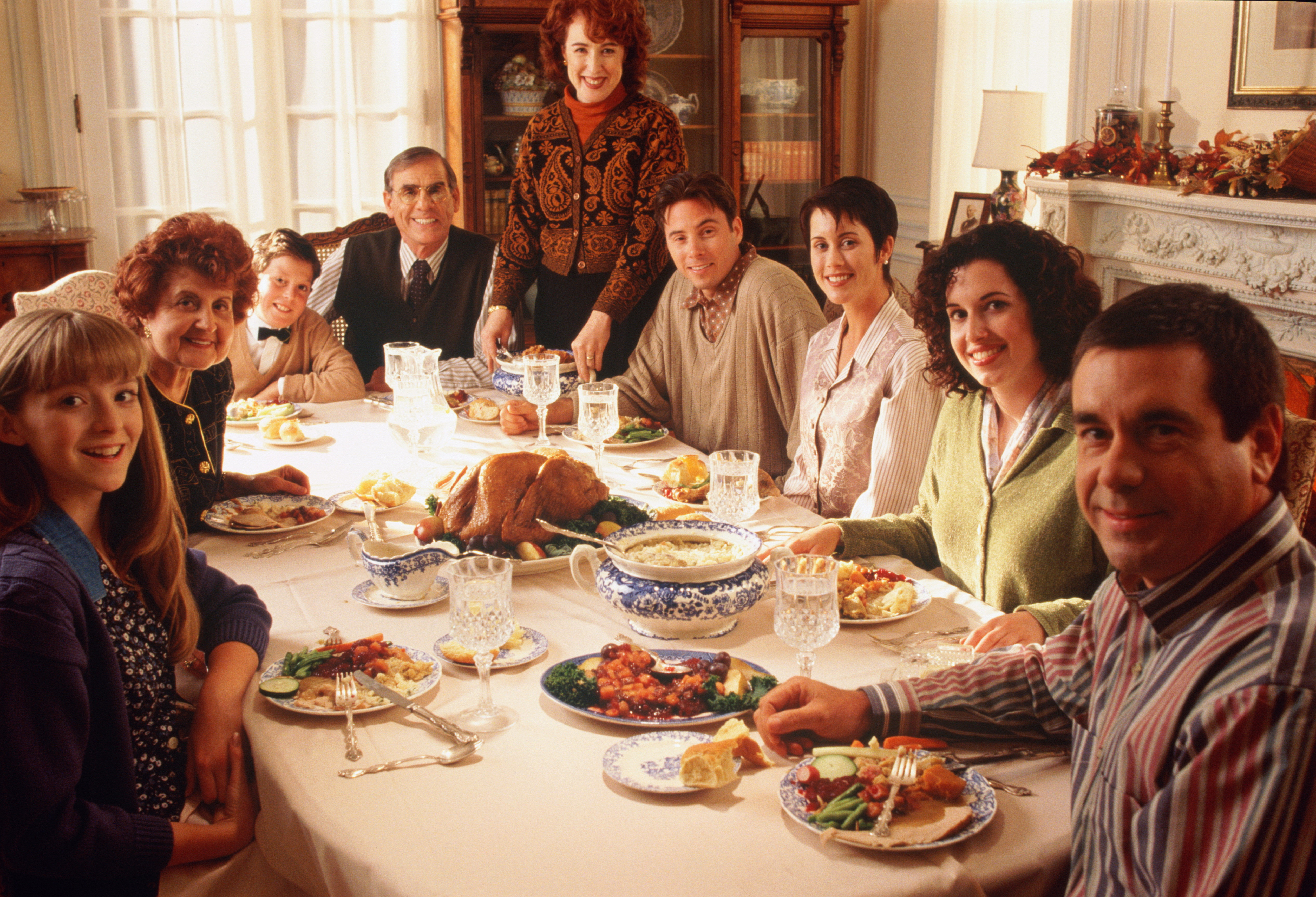 Thanksgiving Family Dinner  Thanksgiving Survival Guide 8 Gad s to Keep the Family