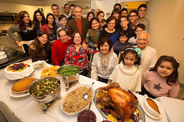 Thanksgiving Family Dinner  Thanksgiving on Long Island Newsday
