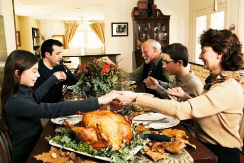 Thanksgiving Family Dinner  Dinner Talk