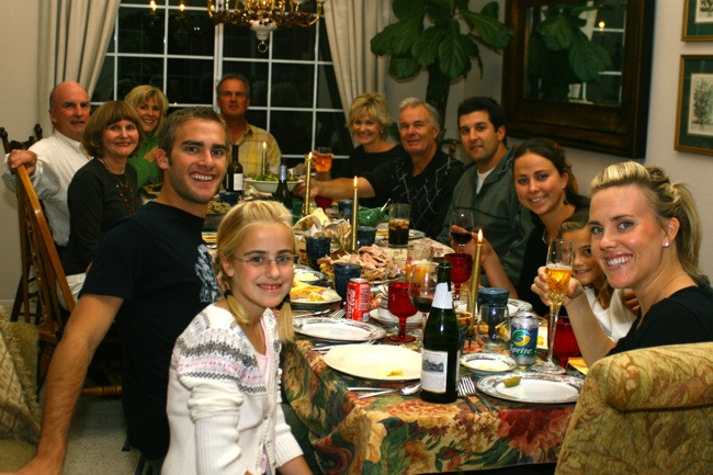 Thanksgiving Family Dinner  Family Thanksgiving Party Ideas – Party Ideas