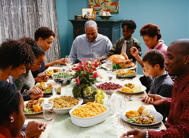Thanksgiving Family Dinner  November 2010