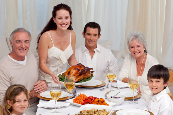 Thanksgiving Family Dinner  How to survive Thanksgiving with your in laws