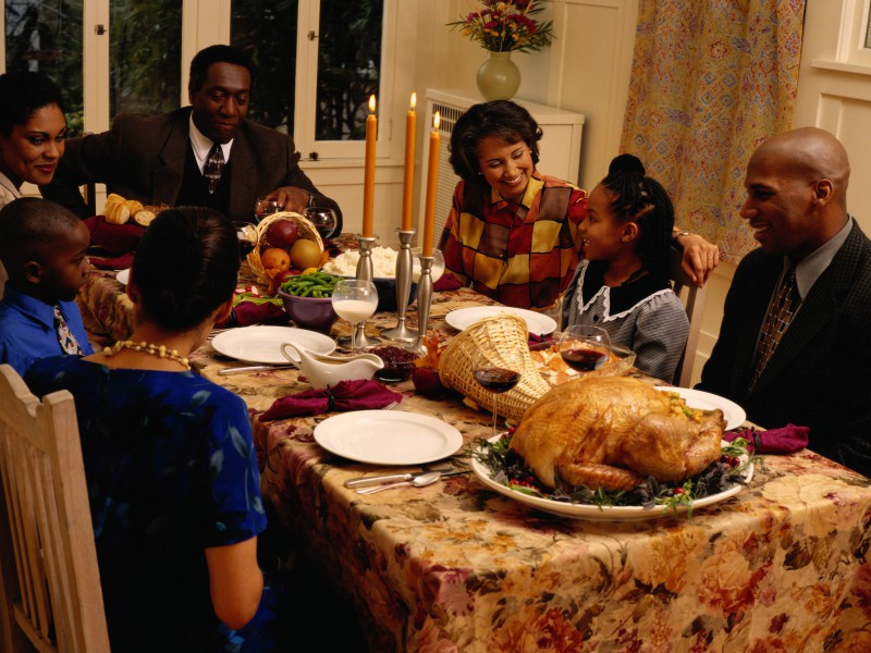 Thanksgiving Family Dinner  Keep digestion on track during the holidays Easy Health