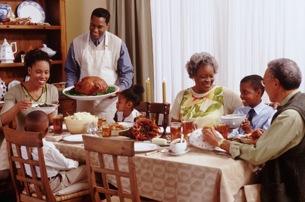 Thanksgiving Family Dinner  Home Training Mom Puts NFL Star JuJu Smith Schuster To