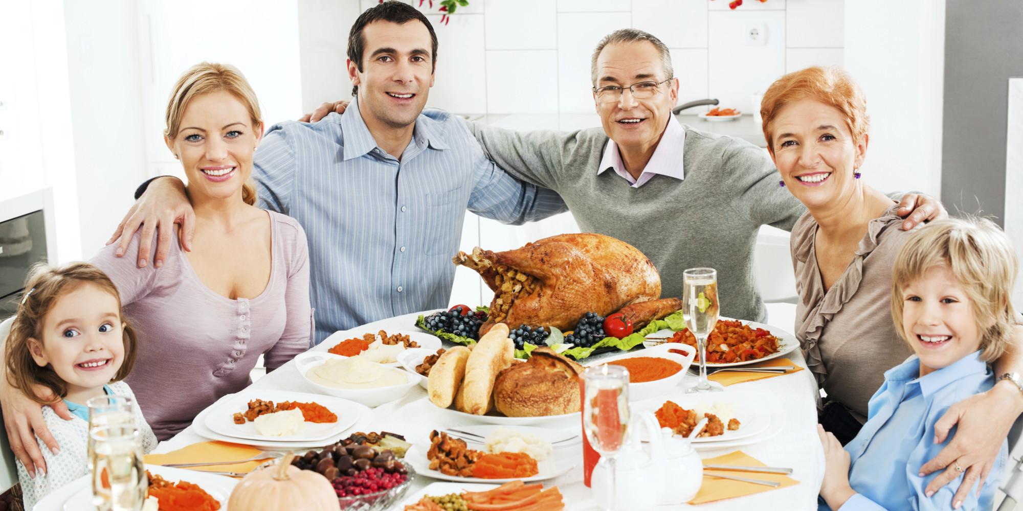 Thanksgiving Family Dinner  The Thanksgiving Dinner Argument Generator Is Just What