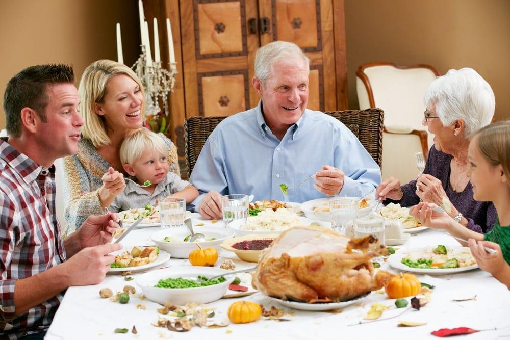Thanksgiving Family Dinner  3 Reasons Cabin Rentals in Gatlinburg TN are Great