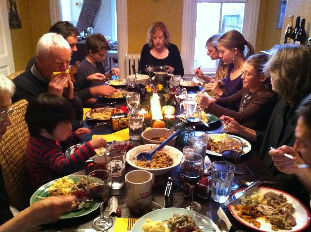 Thanksgiving Family Dinner  appetizer