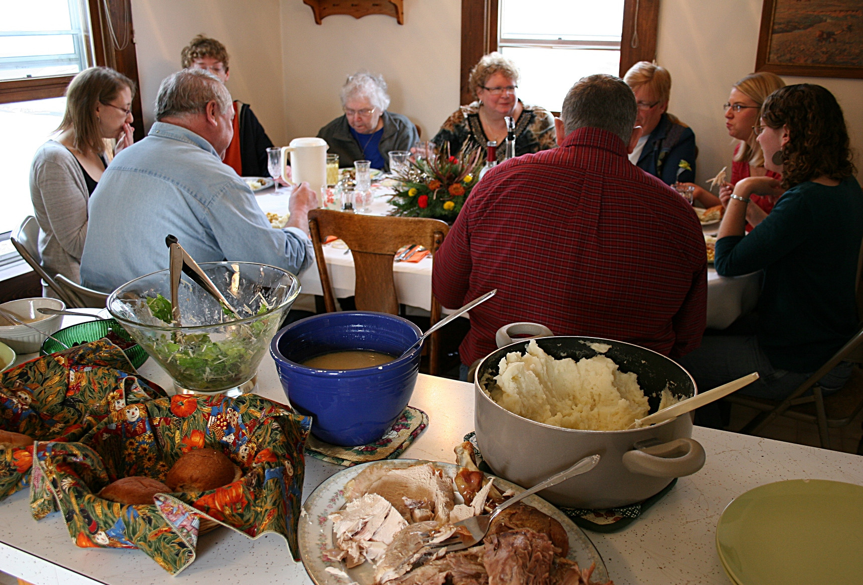 Thanksgiving Family Dinner  fering my two cents as a Redwood County native on the