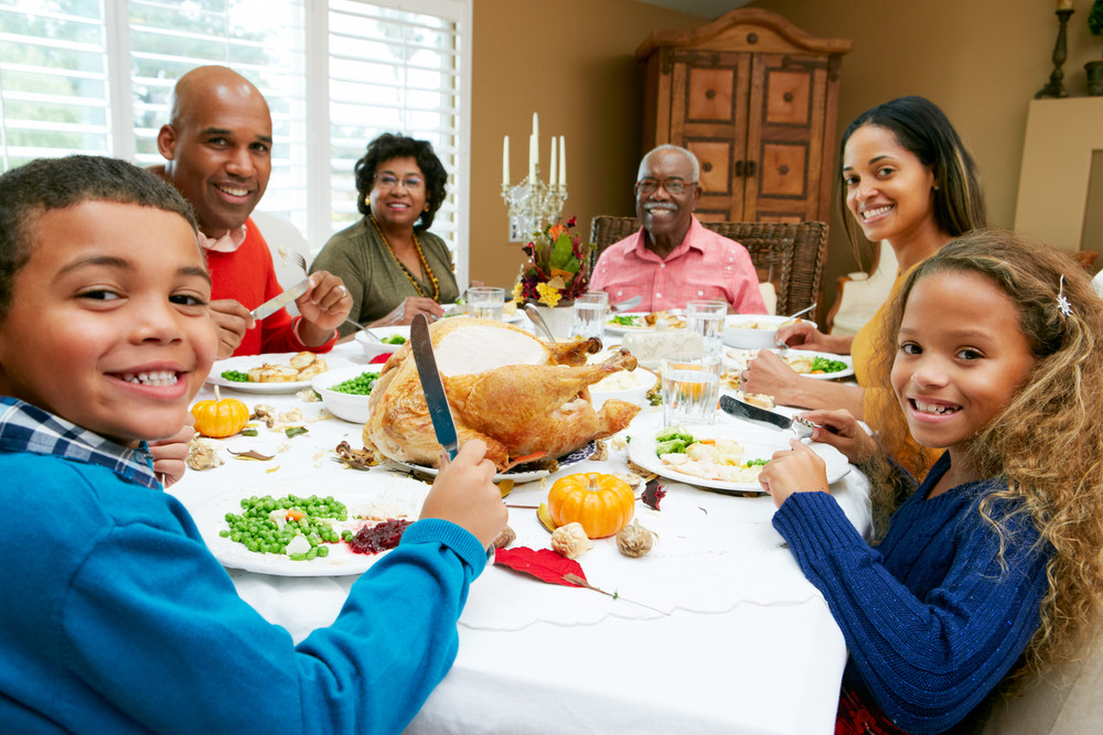 Thanksgiving Family Dinner  How to eat everything at Thanksgiving and not gain weight
