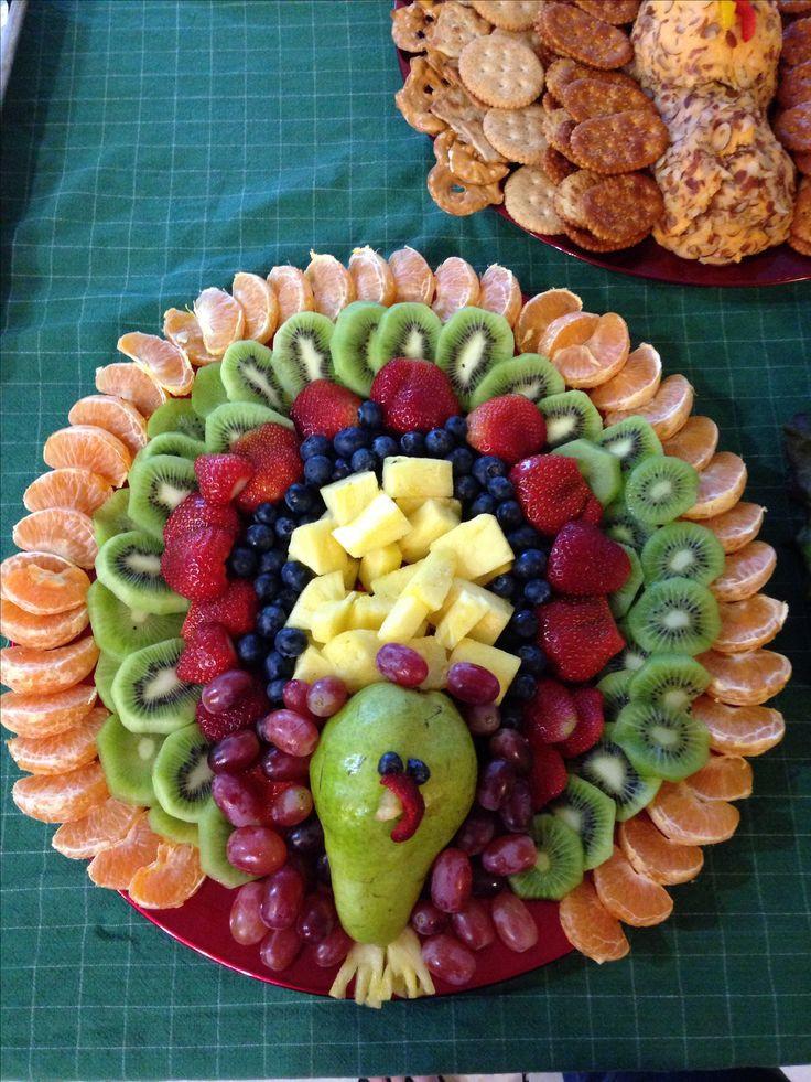 Thanksgiving Fruit Turkey  Best 25 Fruit turkey ideas on Pinterest
