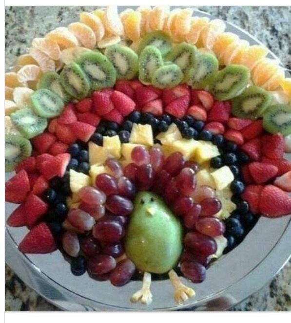 Thanksgiving Fruit Turkey  Best 20 Fruit turkey ideas on Pinterest