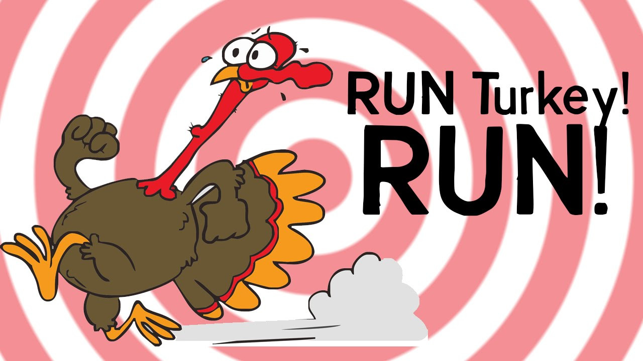 Thanksgiving Games Turkey Run  TURKEY RUN Happy Thanksgiving from Instagamrr