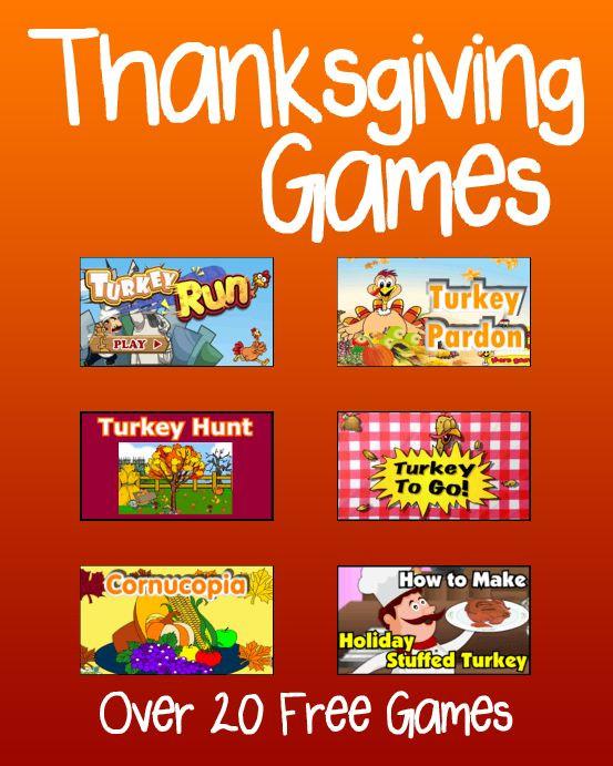 Thanksgiving Games Turkey Run  17 Best images about Preschool Thanksgiving on Pinterest