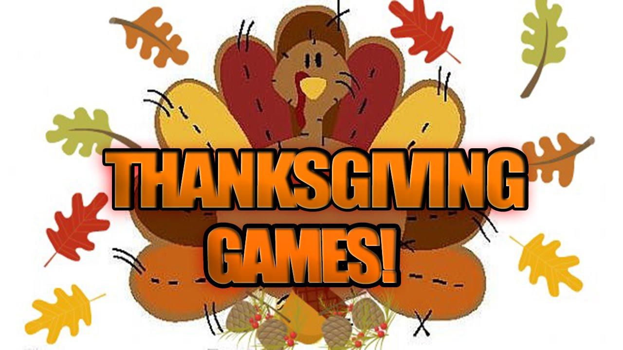 Thanksgiving Games Turkey Run  HAPPY THANKSGIVING GAMES