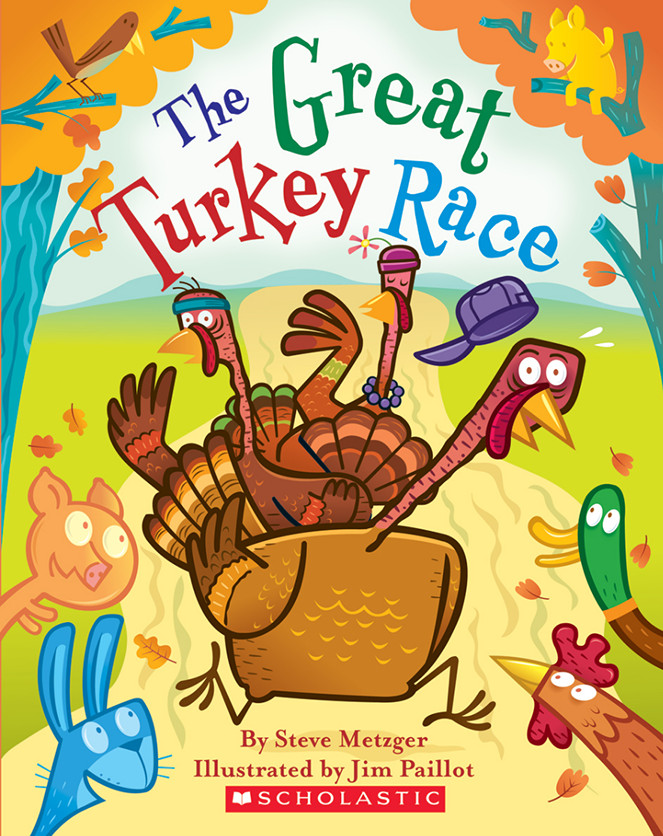 Thanksgiving Games Turkey Run  5 Stories and Activities for Thanksgiving