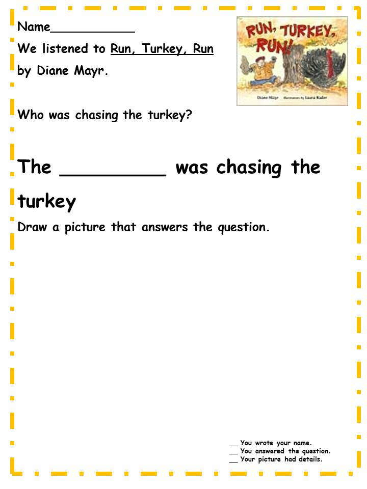 Thanksgiving Games Turkey Run  A Teacher s Touch More Fall and Thanksgiving Listening
