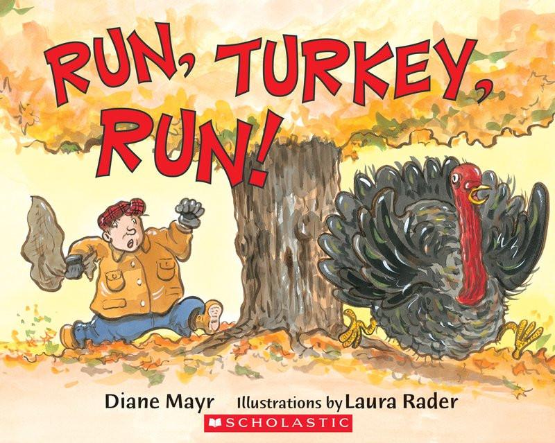 Thanksgiving Games Turkey Run  Run Turkey Run by Diane Mayr