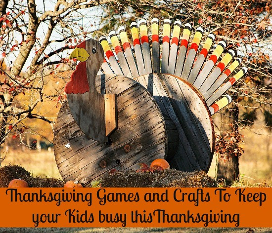 Thanksgiving Games Turkey Run  Thanksgiving Themed Games and Crafts to Keep the Kids Busy