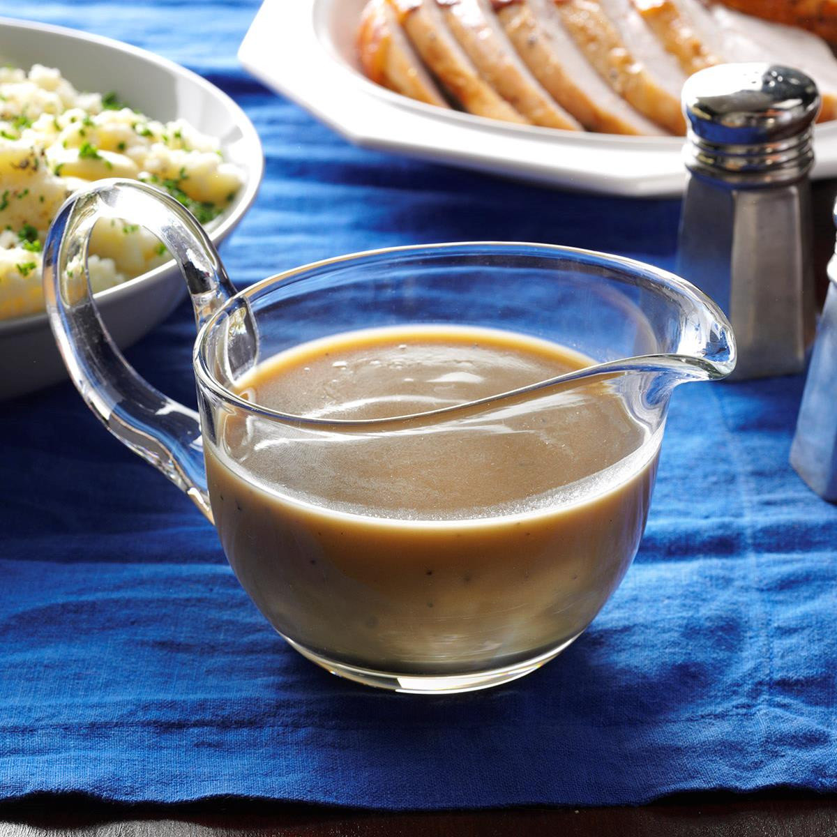 Thanksgiving Gravy Recipe  Holiday Turkey Gravy Recipe