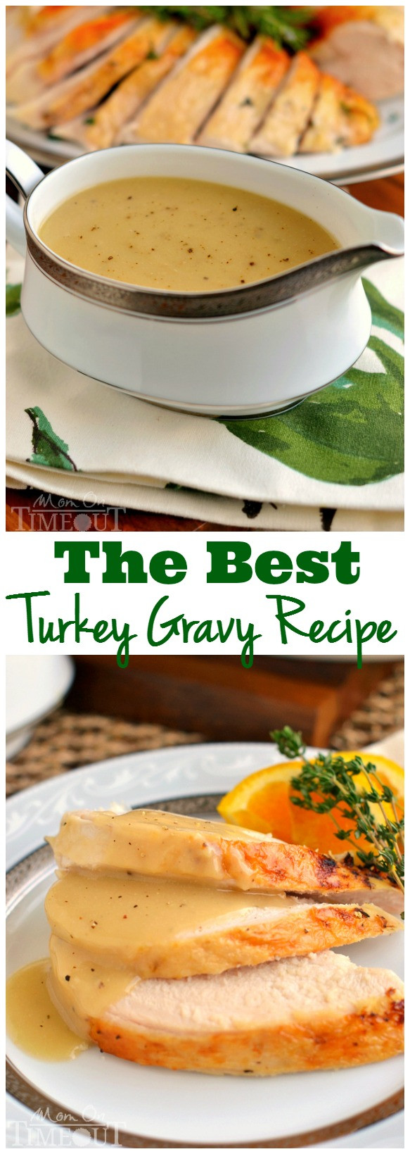 Thanksgiving Gravy Recipe  Rich And Silky Turkey Gravy Recipe — Dishmaps