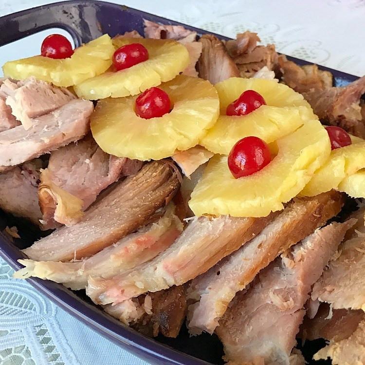 Thanksgiving Ham Recipes With Pineapple  Crockpot Brown Sugar & Pineapple Glazed Ham