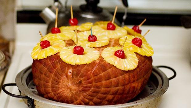 Thanksgiving Ham Recipes With Pineapple  Pineapple Glazed Ham