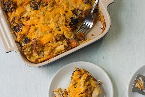 Thanksgiving Leftover Breakfast  Thanksgiving Leftovers Breakfast Casserole Savvy Eats
