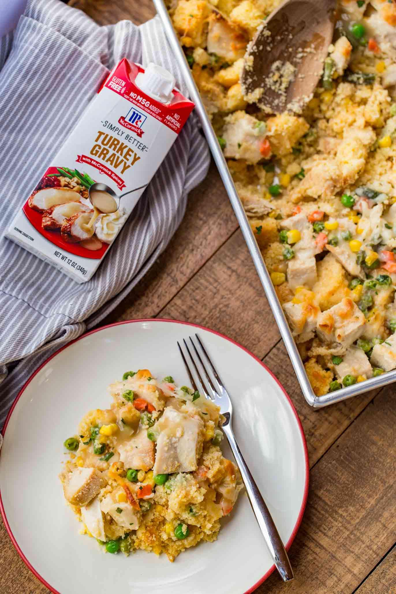 Thanksgiving Leftovers Casserole  Leftover Turkey Casserole Dinner then Dessert
