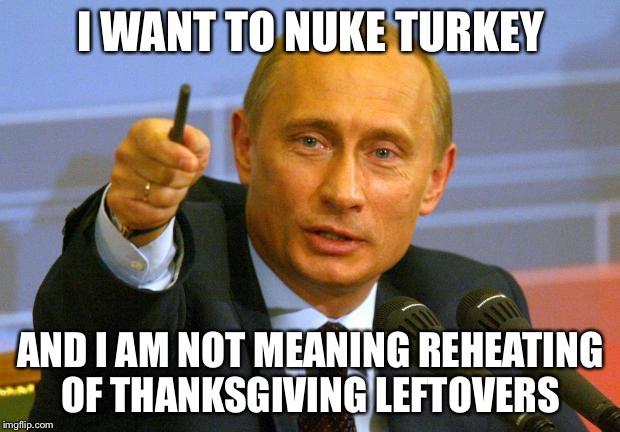 Thanksgiving Leftovers Meme  Microwaving Turkey Imgflip
