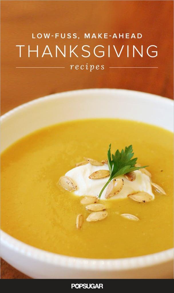 Thanksgiving Make Ahead Recipes  Thanksgiving Potluck Recipes