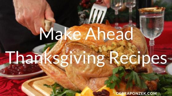 Thanksgiving Make Ahead Recipes  Desserts Archives Chef Debra Ponzek Aux Delices Foods