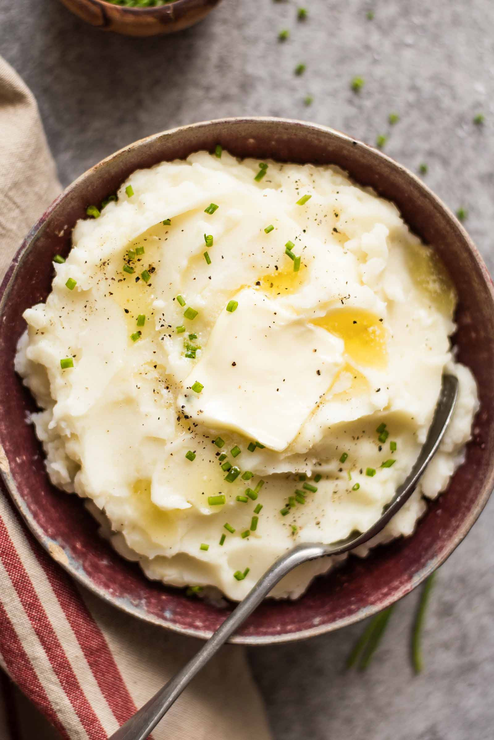 Thanksgiving Mashed Potatoes  Crock Pot Mashed Potatoes Easy & No Stress